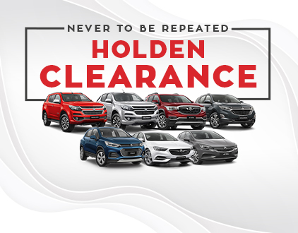 Holden Clearance